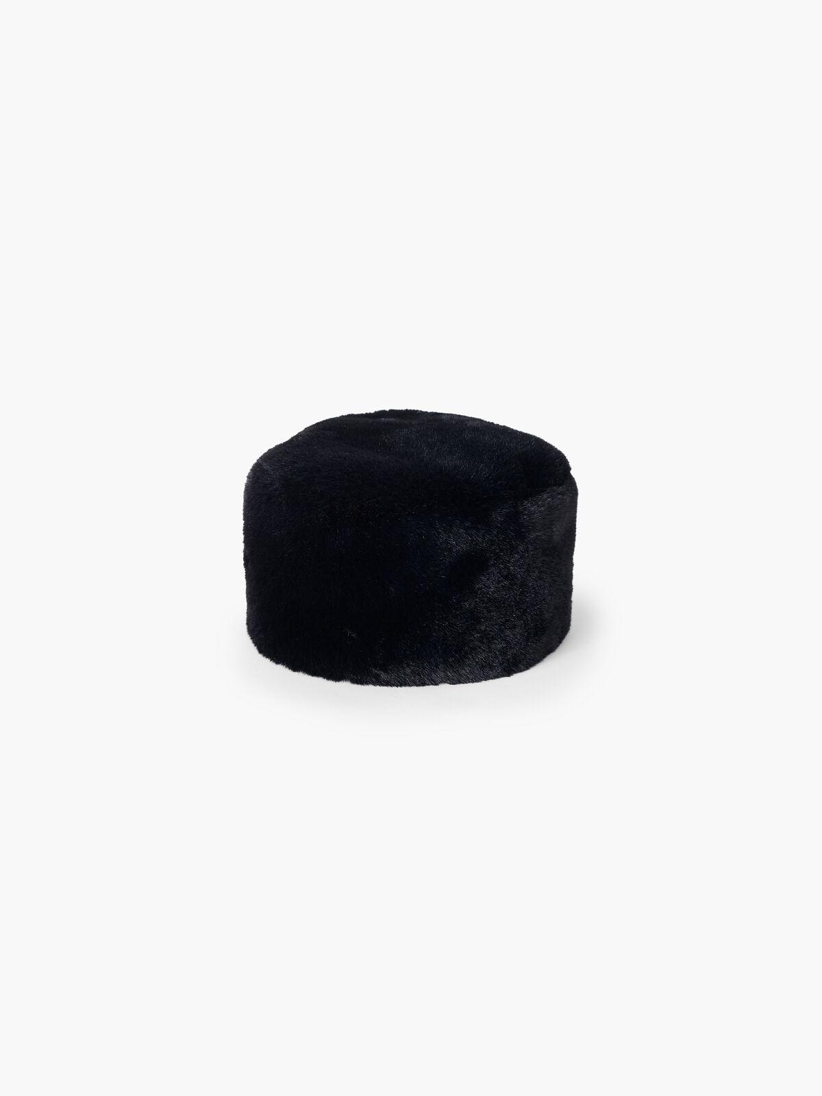 Amato Short Hair Faux Fur Kossak Hat