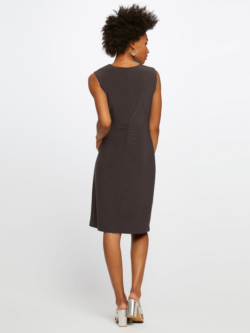Luxe Jersey Twist Dress image number 2