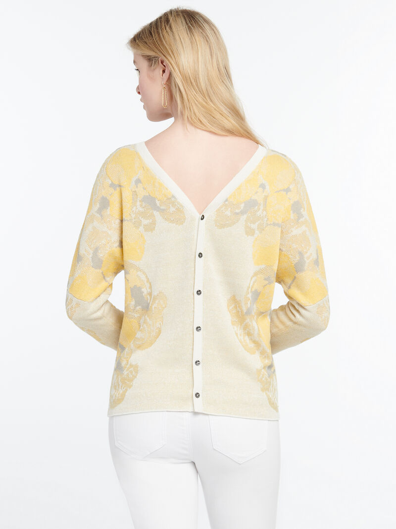LEMONS SWEATER REVERSIBLE image number 2