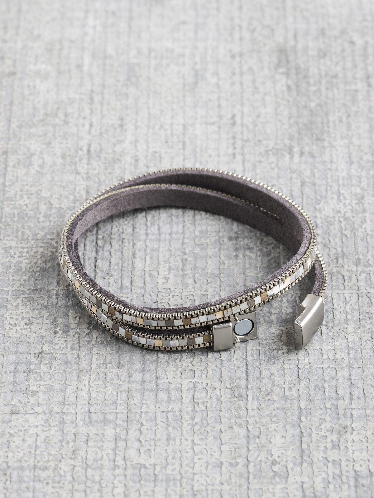 Marlyn Schiff Mosaic Wrap Bracelet