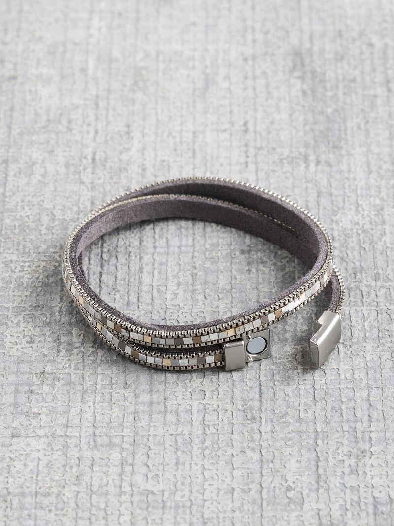 Marlyn Schiff Mosaic Wrap Bracelet image number 1