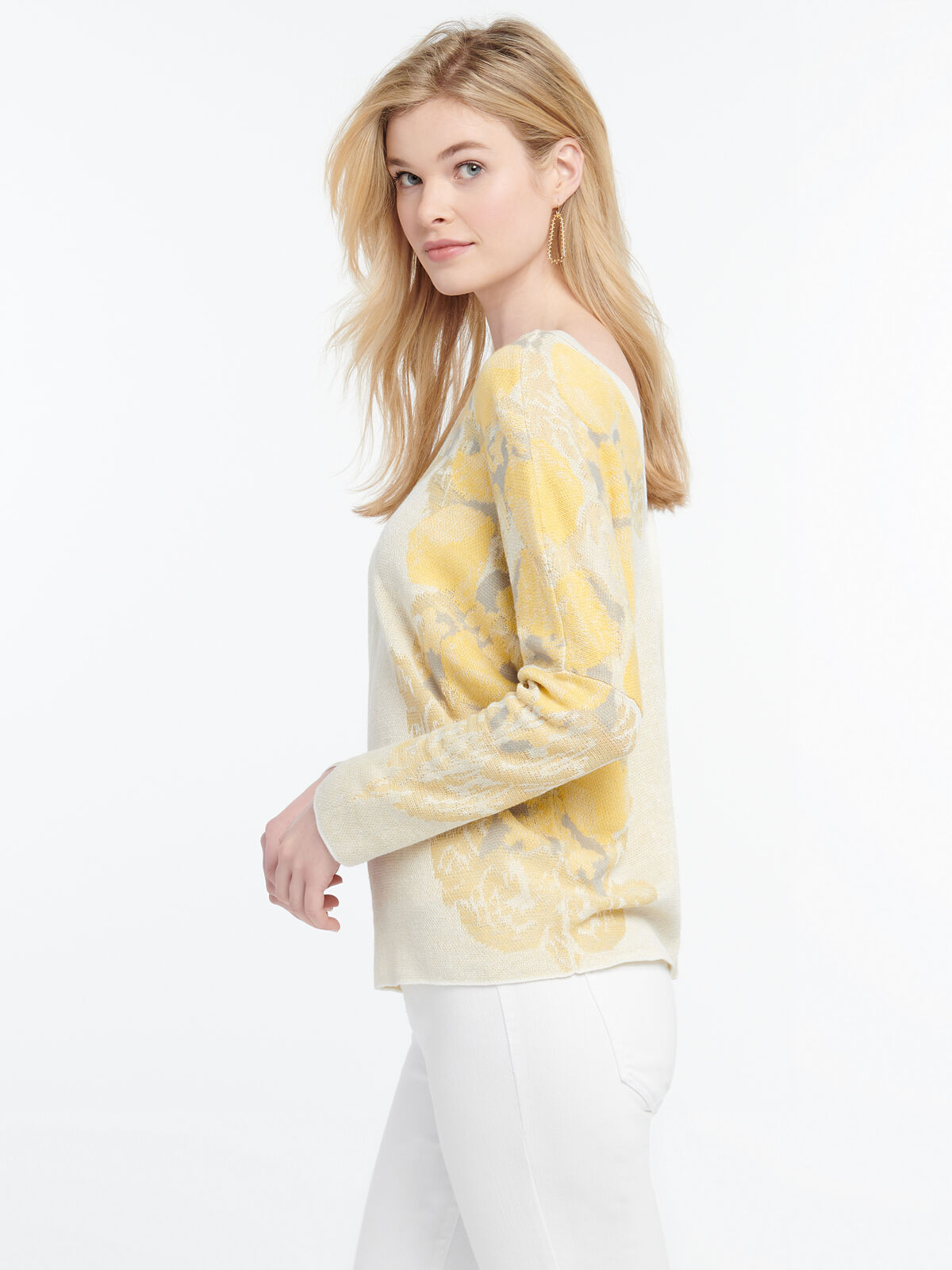 LEMONS SWEATER REVERSIBLE