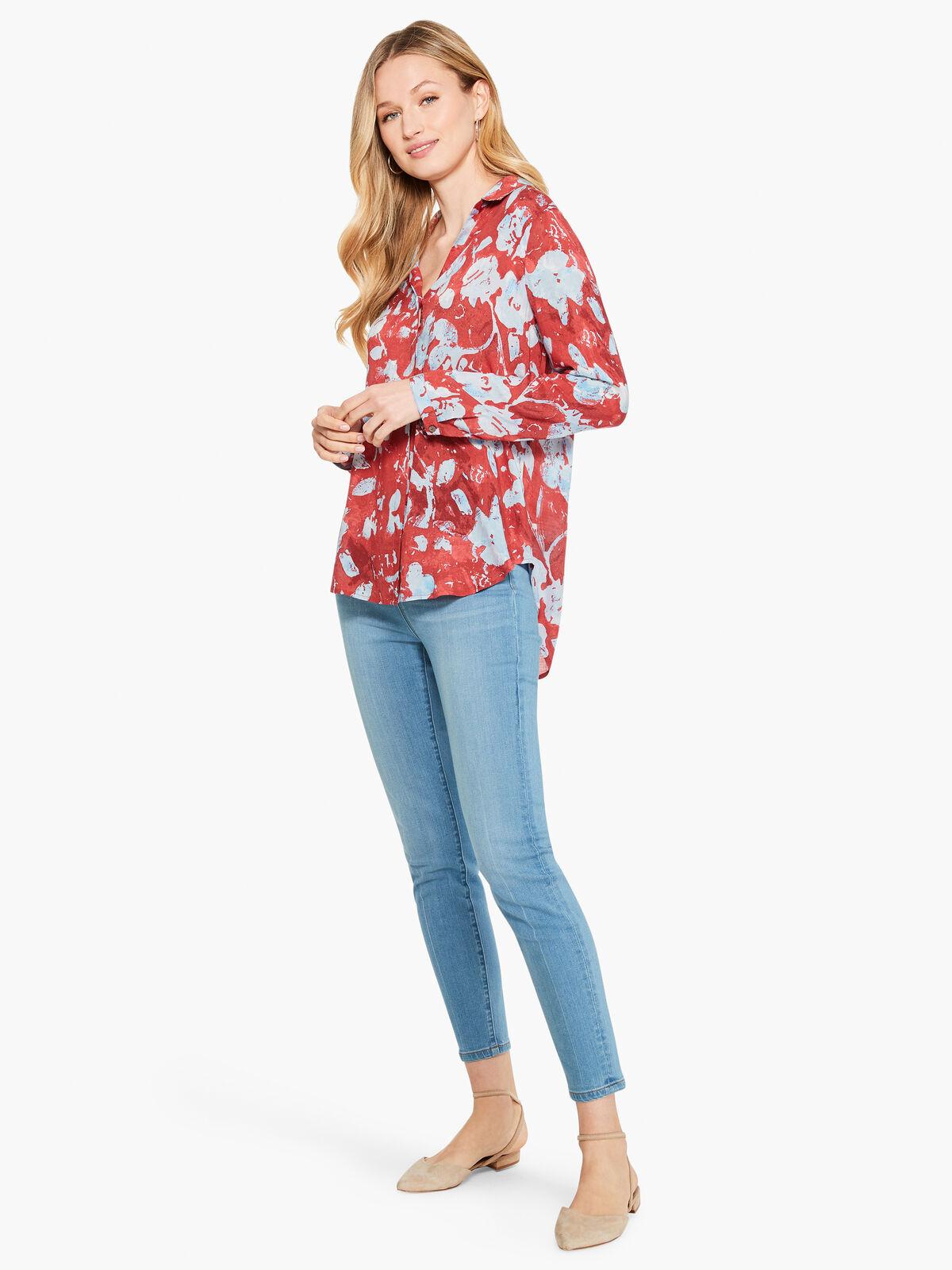 Terracotta Blooms Shirt