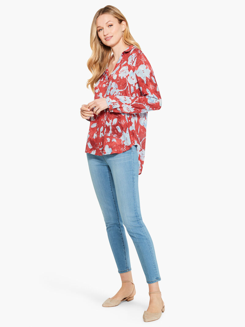 Terracotta Blooms Shirt image number 3