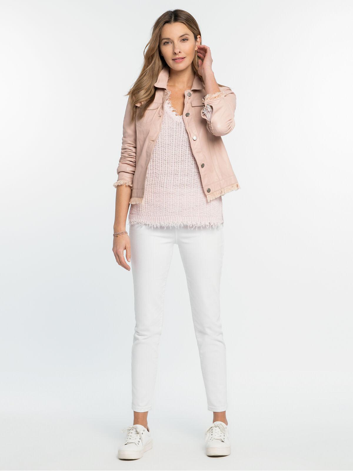 Alexa Washable Leather Jacket