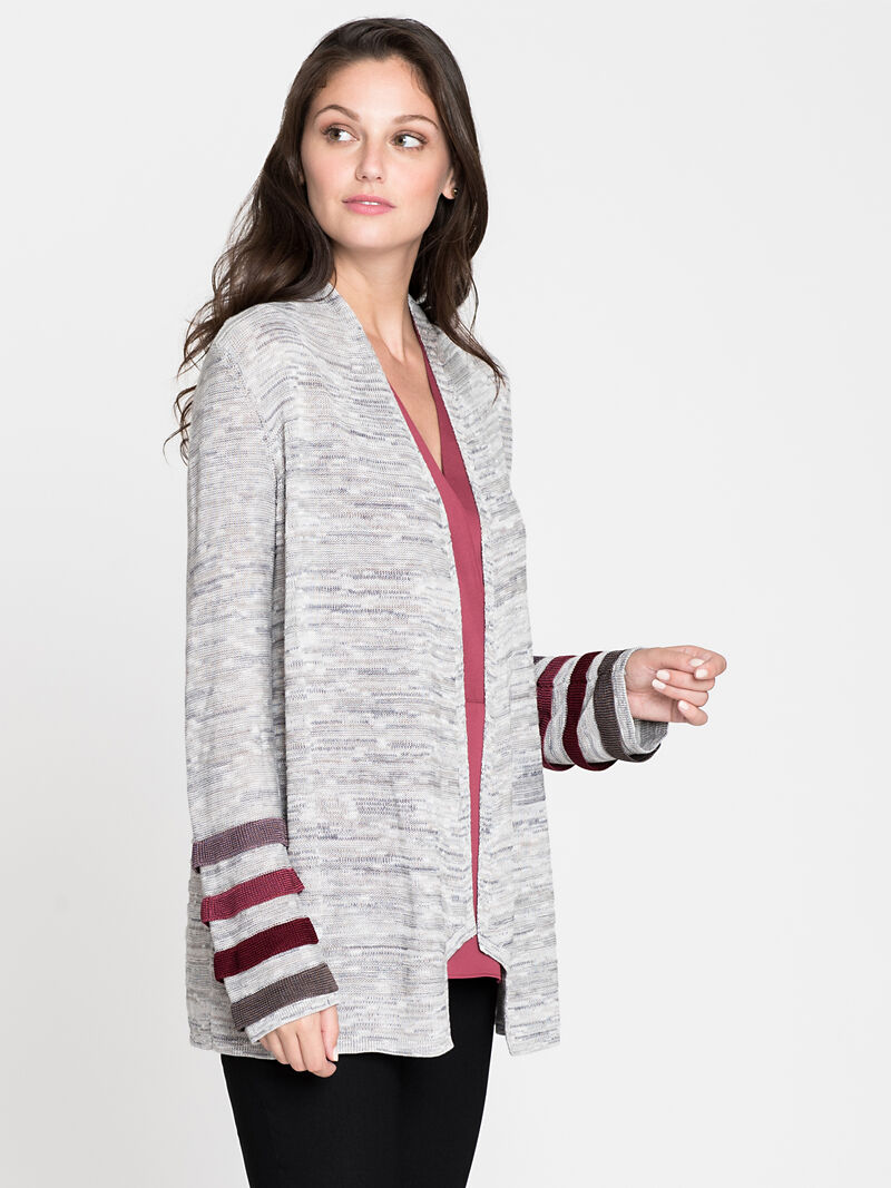 Ombre Cuff Cardigan image number 2