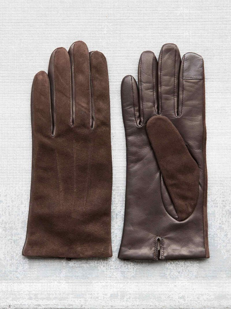 Amato Touch Tech Leather Glove image number 0