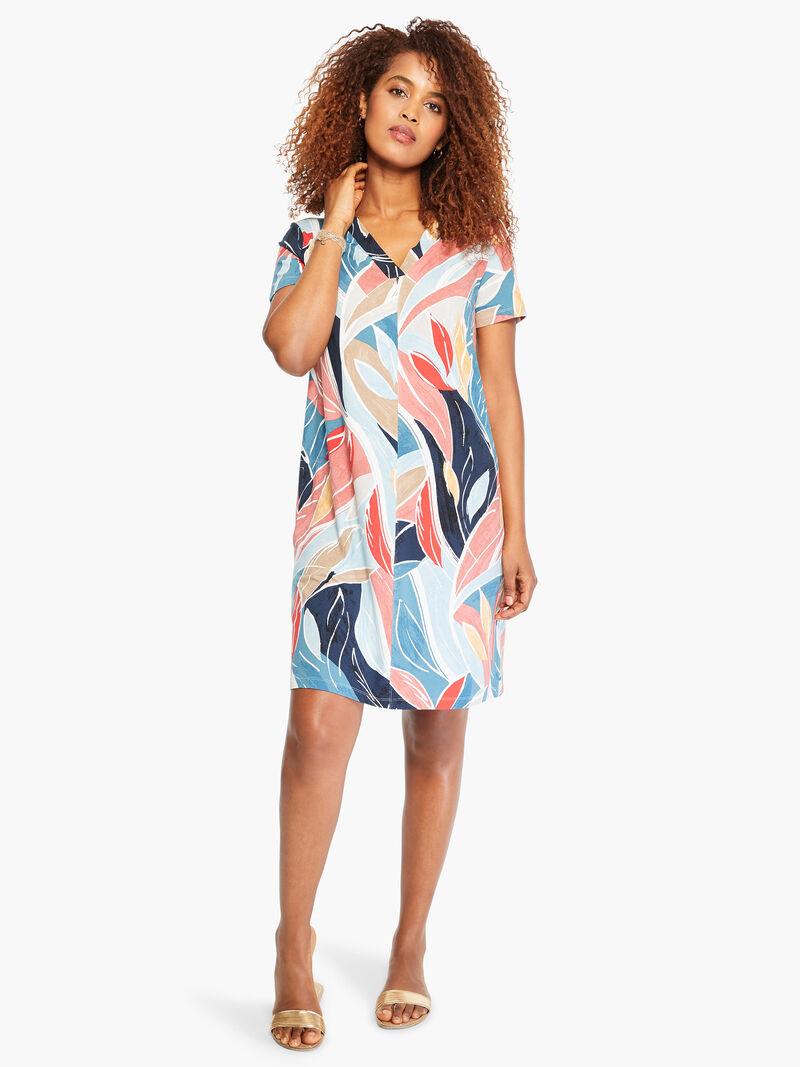 Breezy Leaves Dress image number 3