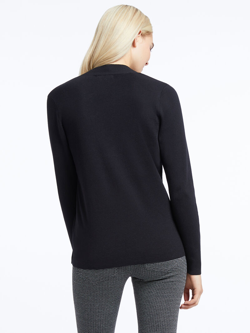 Button V-Neck Sweater image number 2