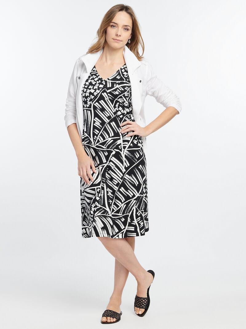 MOONLIT PALM DRESS image number 3