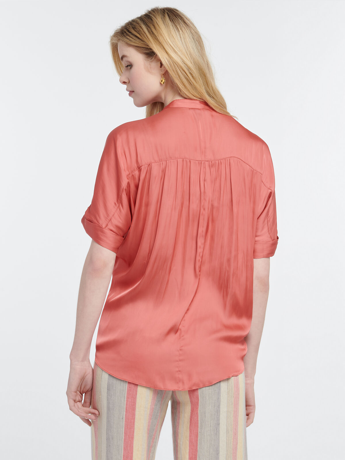 DESTINATION PEASANT BLOUSE