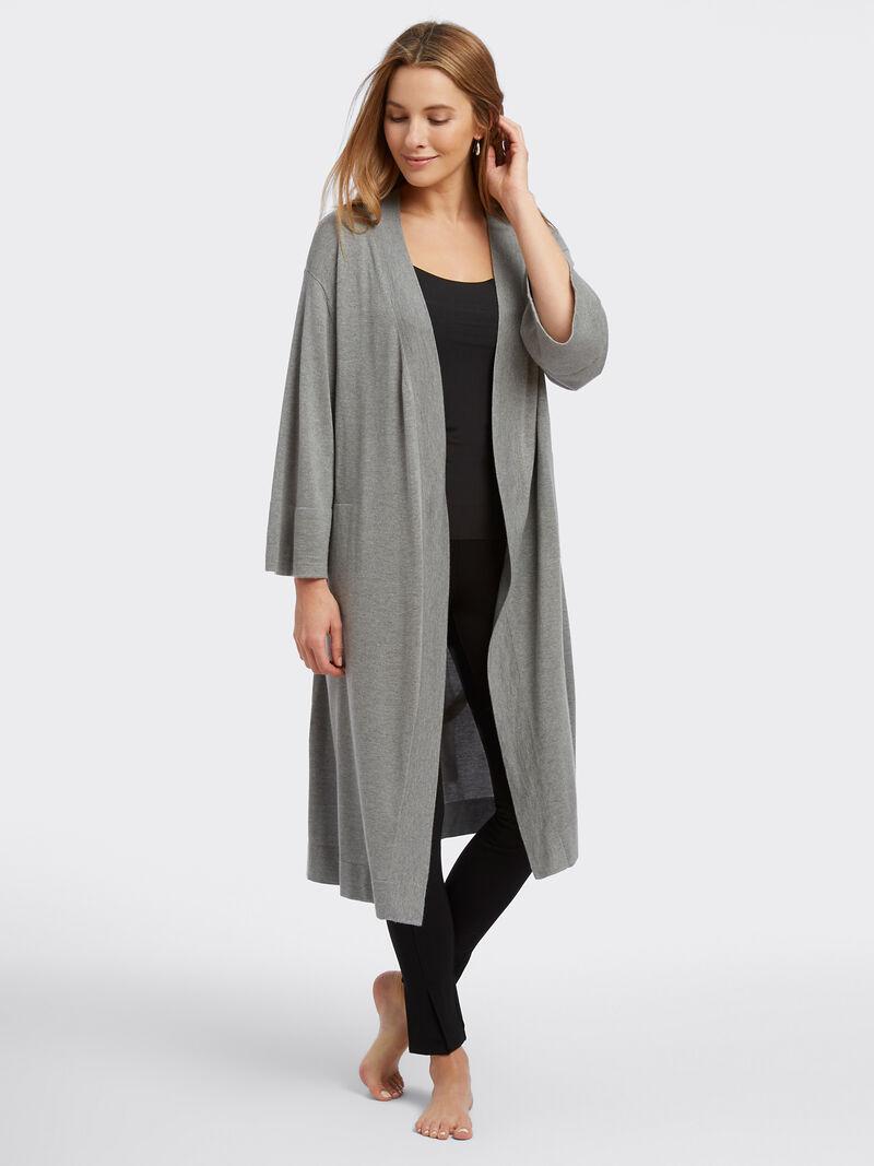 Naadam Cashmere Blend Robe image number 3
