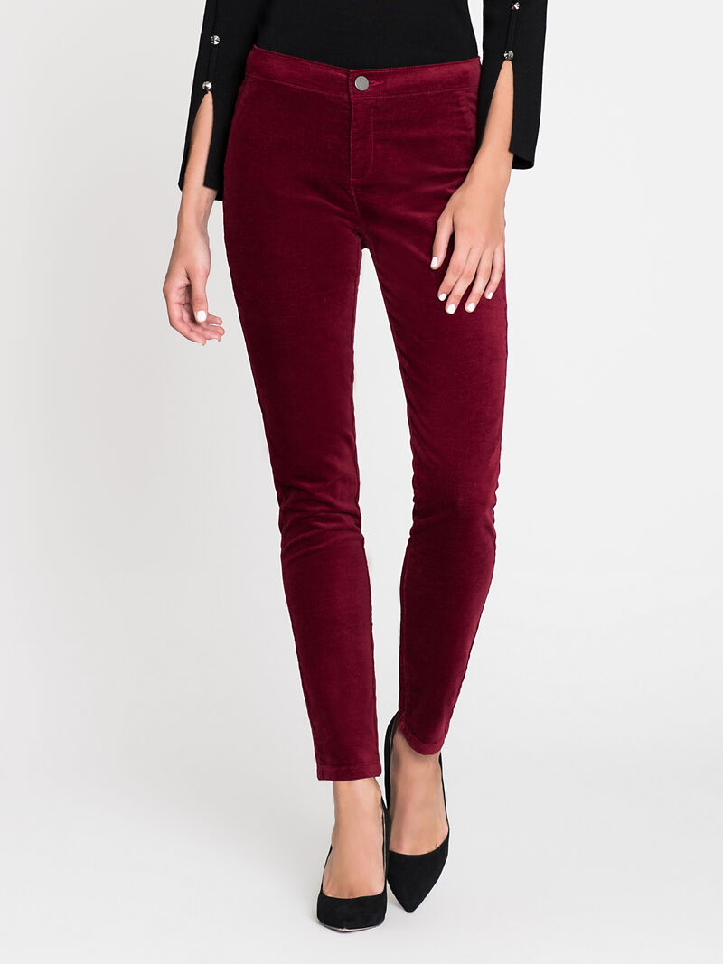 Stretch Velvet Pant image number 1
