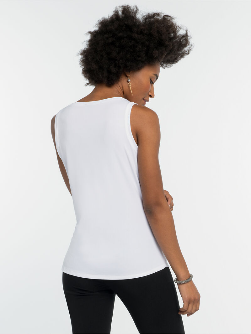 High Twist Drape Tank image number 2