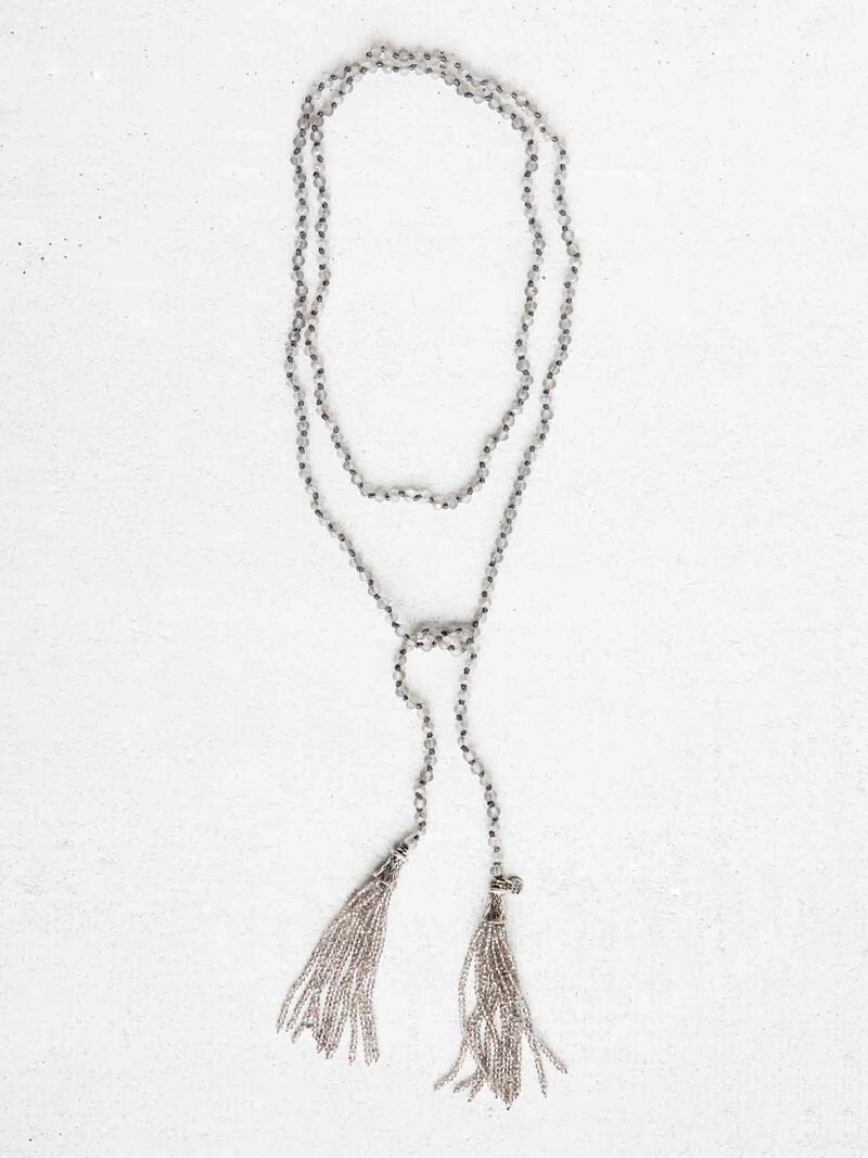 MARLYN SCHIFF TASSEL NECKLACE image number 0