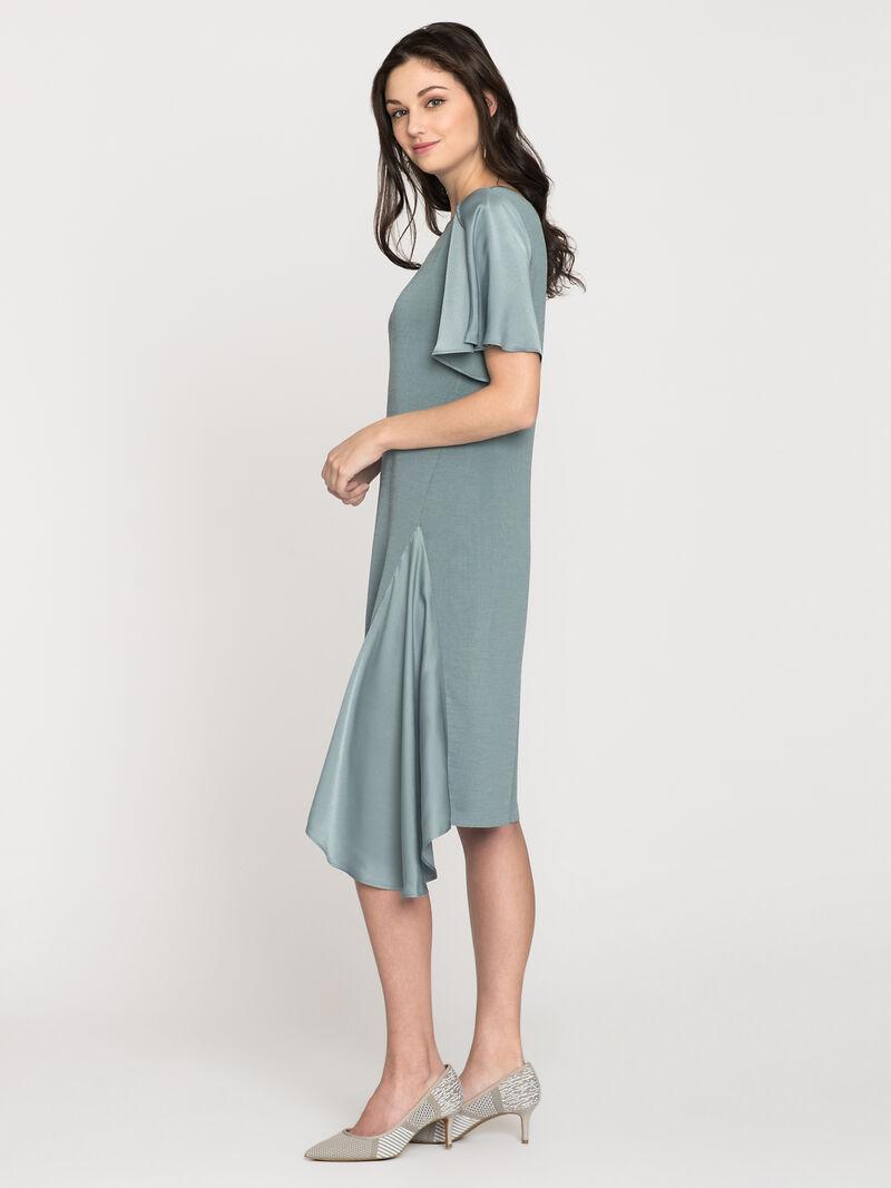 Mixed Flutter Dress image number 2
