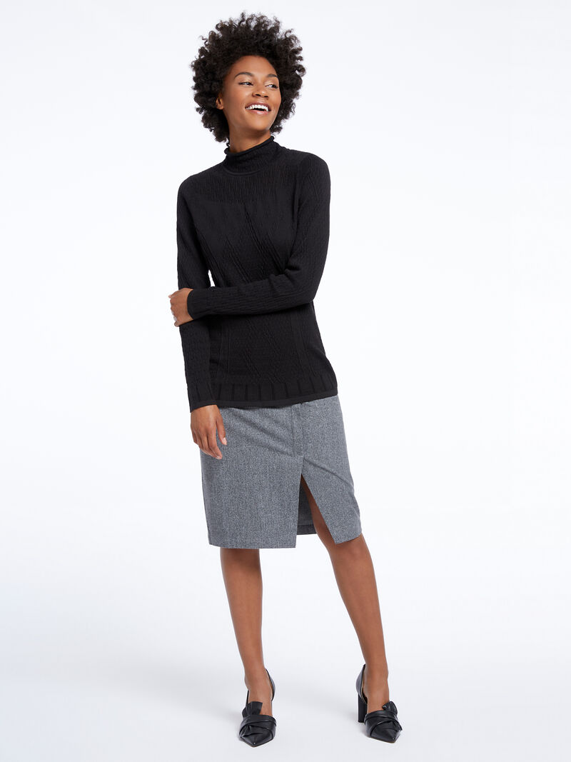 Flash Turtleneck Sweater image number 3