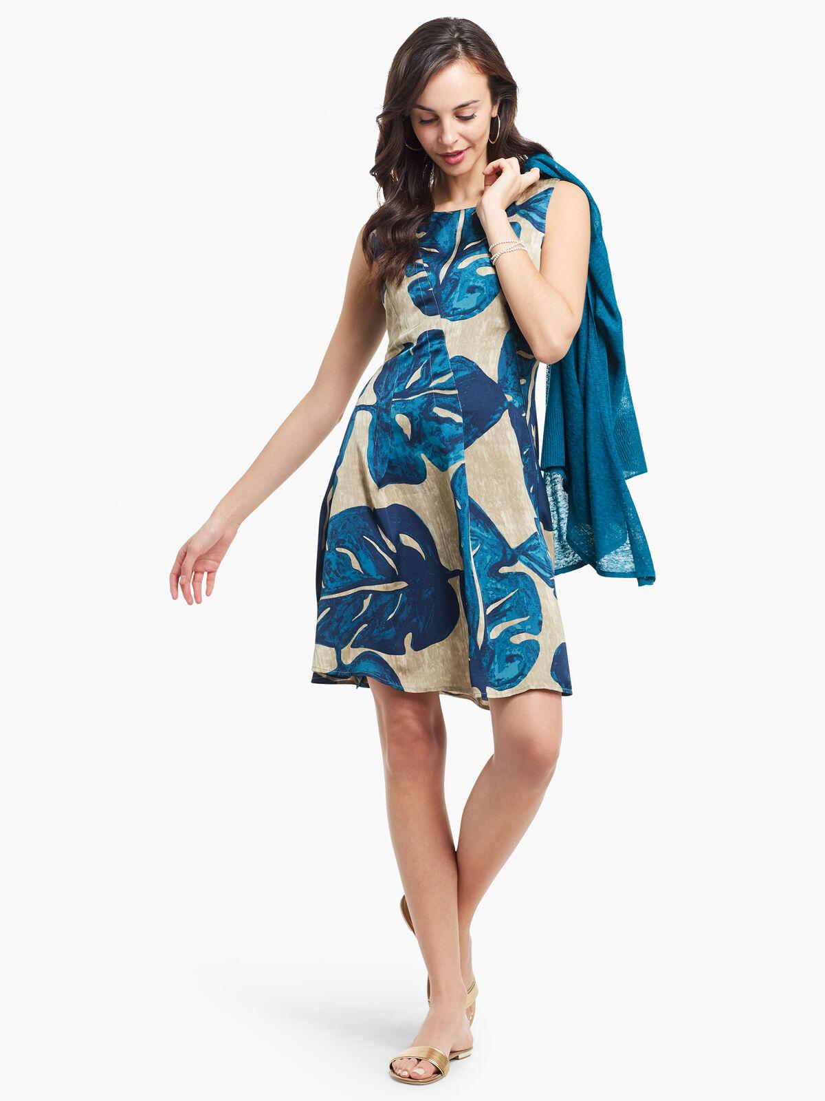 Falling Fronds Dress