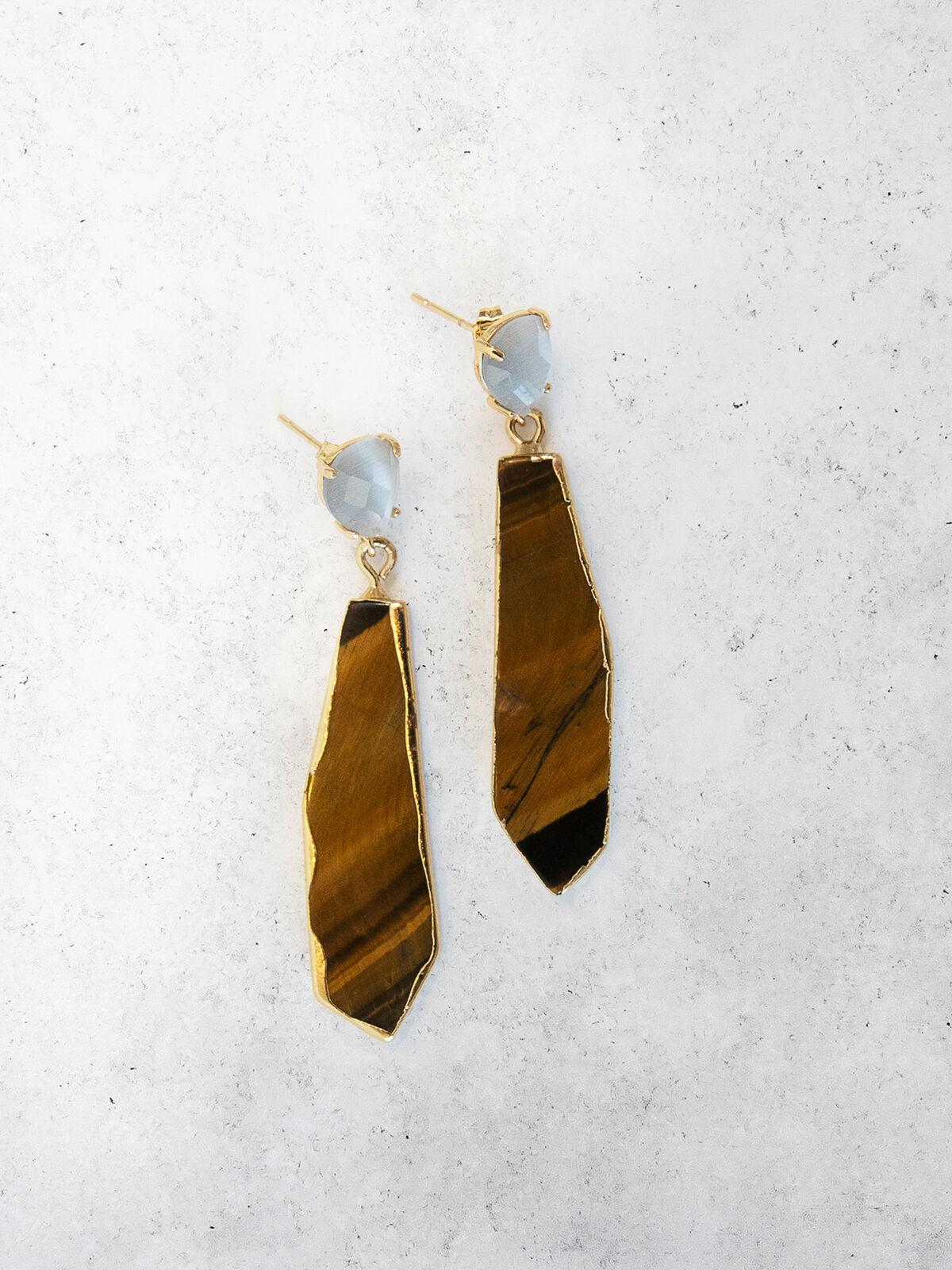 Nakamol  Stone Drop Earring