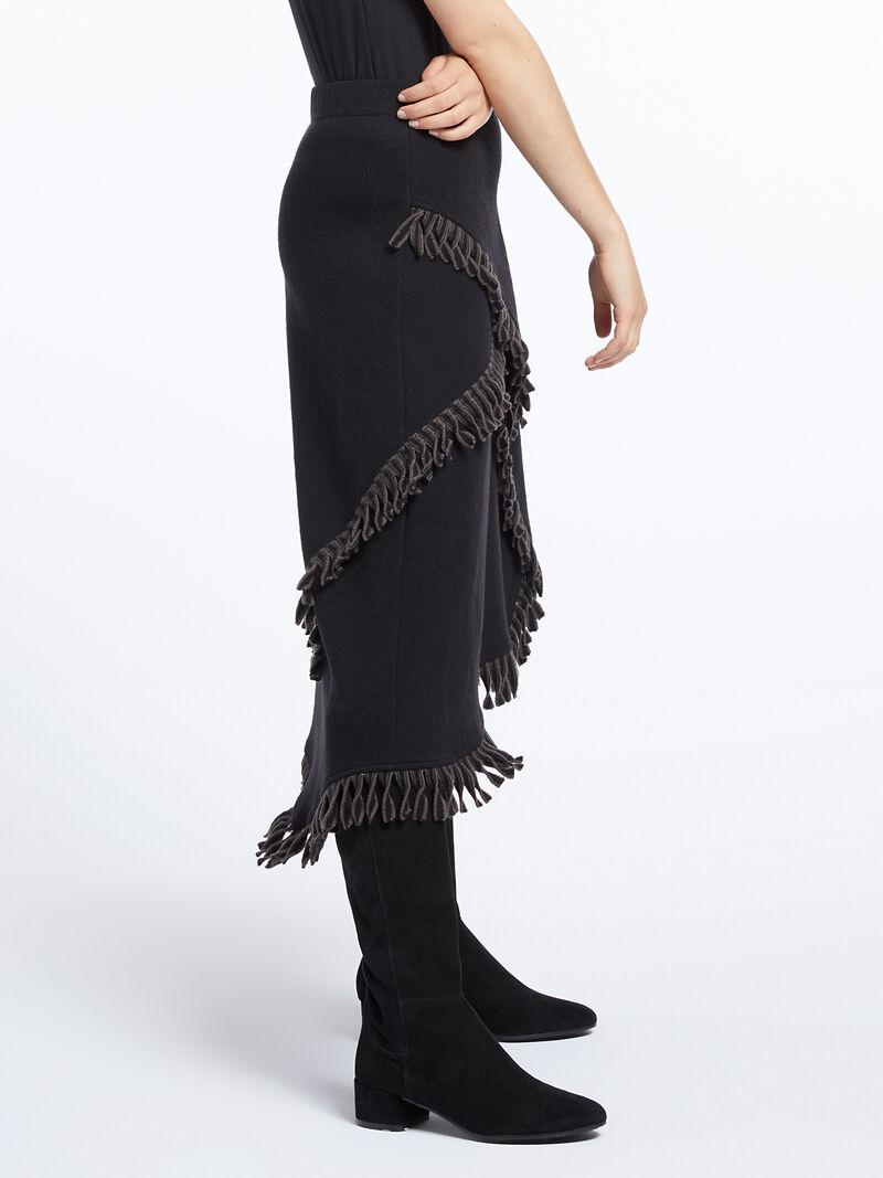 Fringe Trim Skirt image number 2