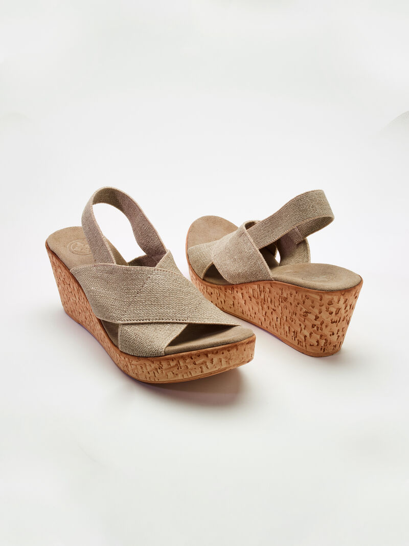 Charleston Shoe Co. Medium Wedge Sandal