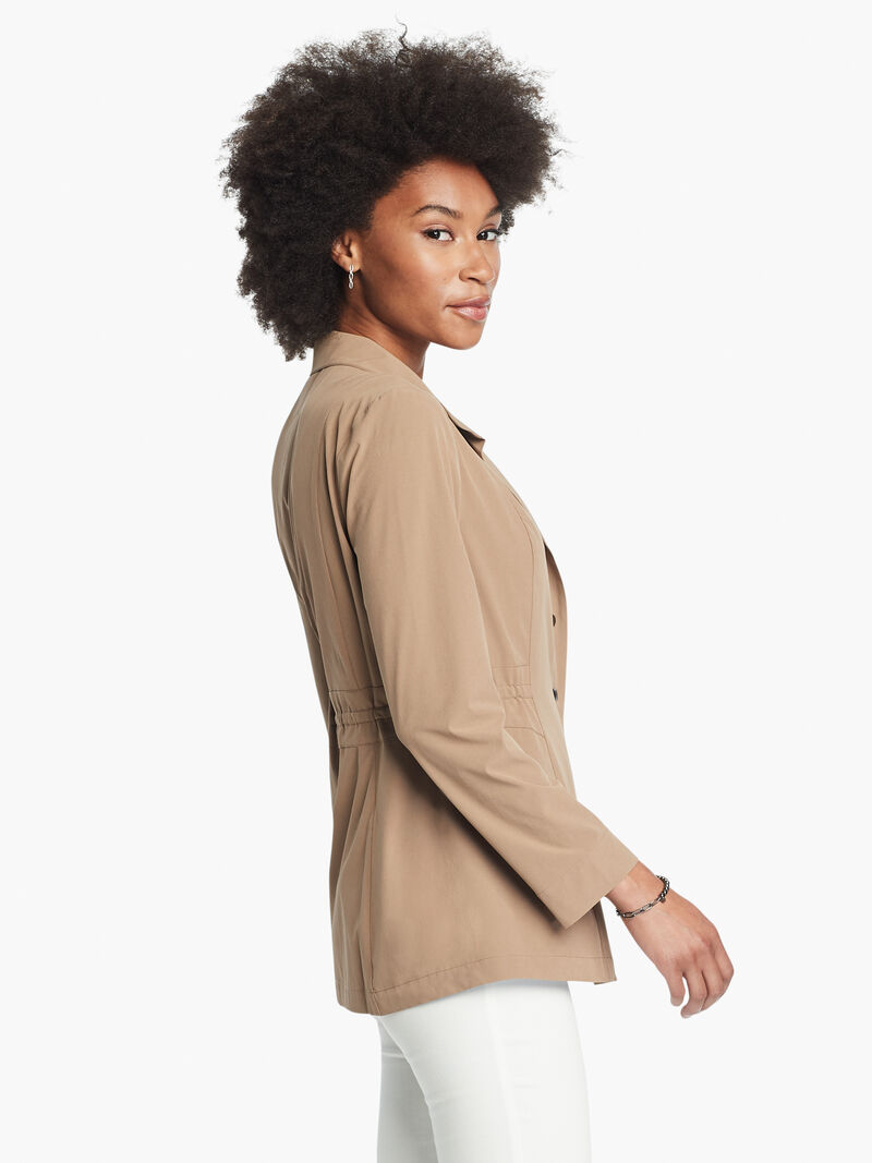 Tech Stretch Snap Front Jacket image number 3