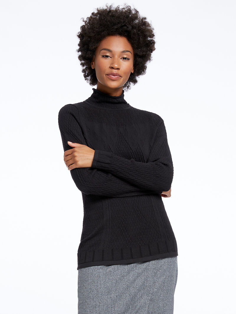 Flash Turtleneck Sweater