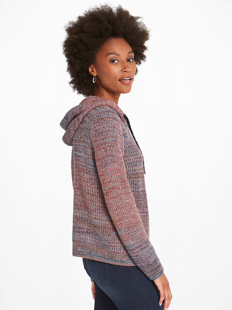 Autumn Sky Hooded Cardigan image number 2