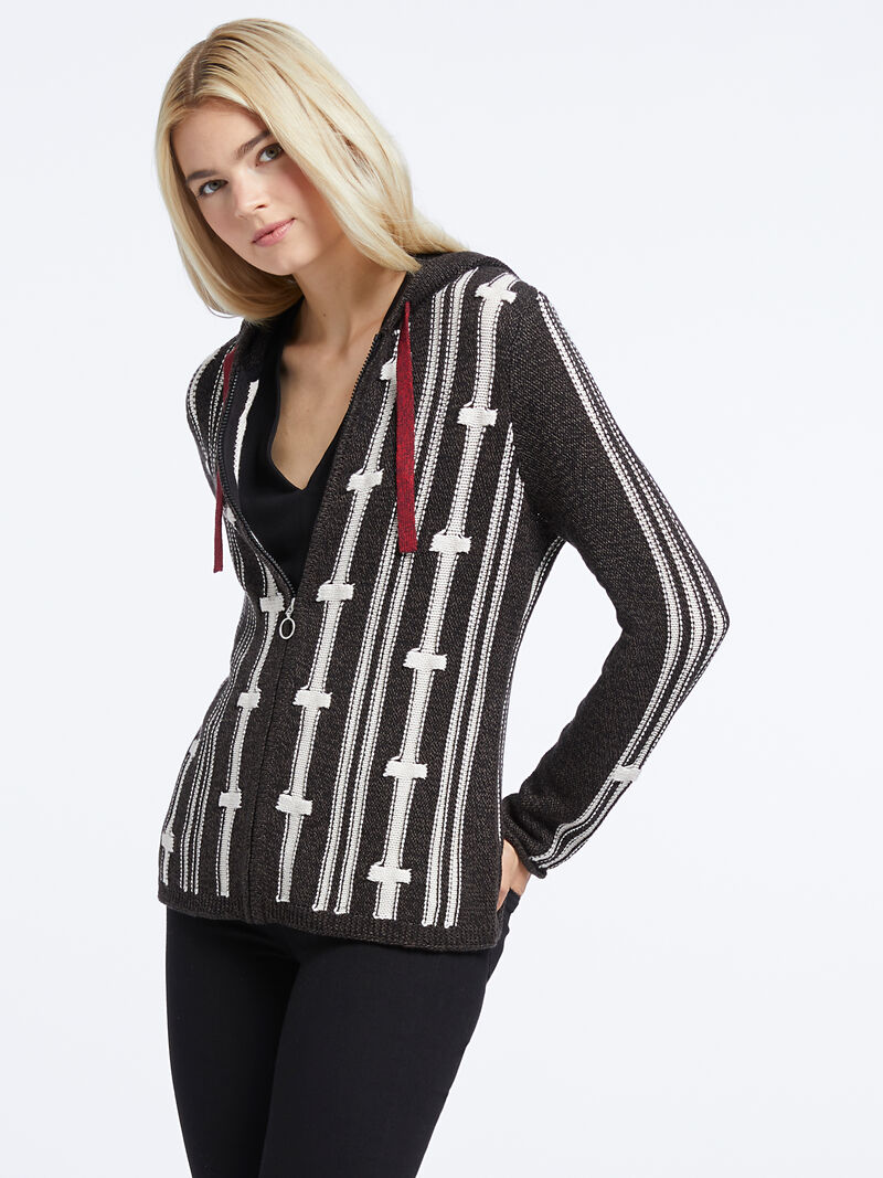 New Tracks Hooded Cardigan image number 0