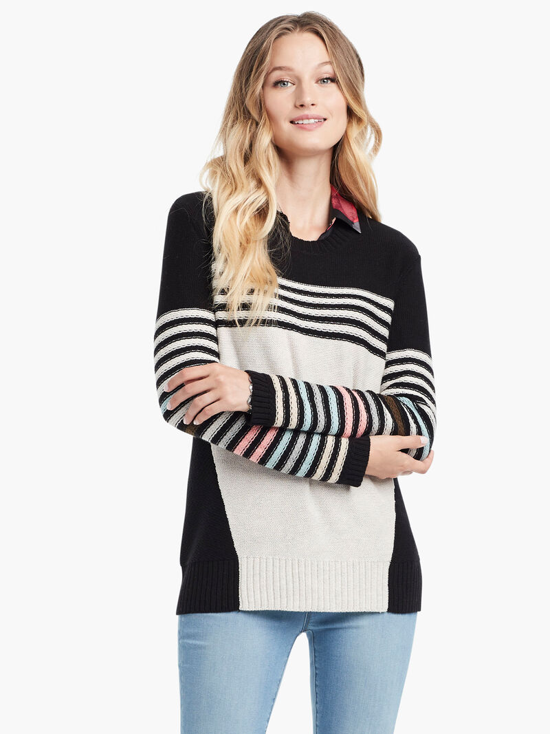 Inner Stripe Sweater image number 1
