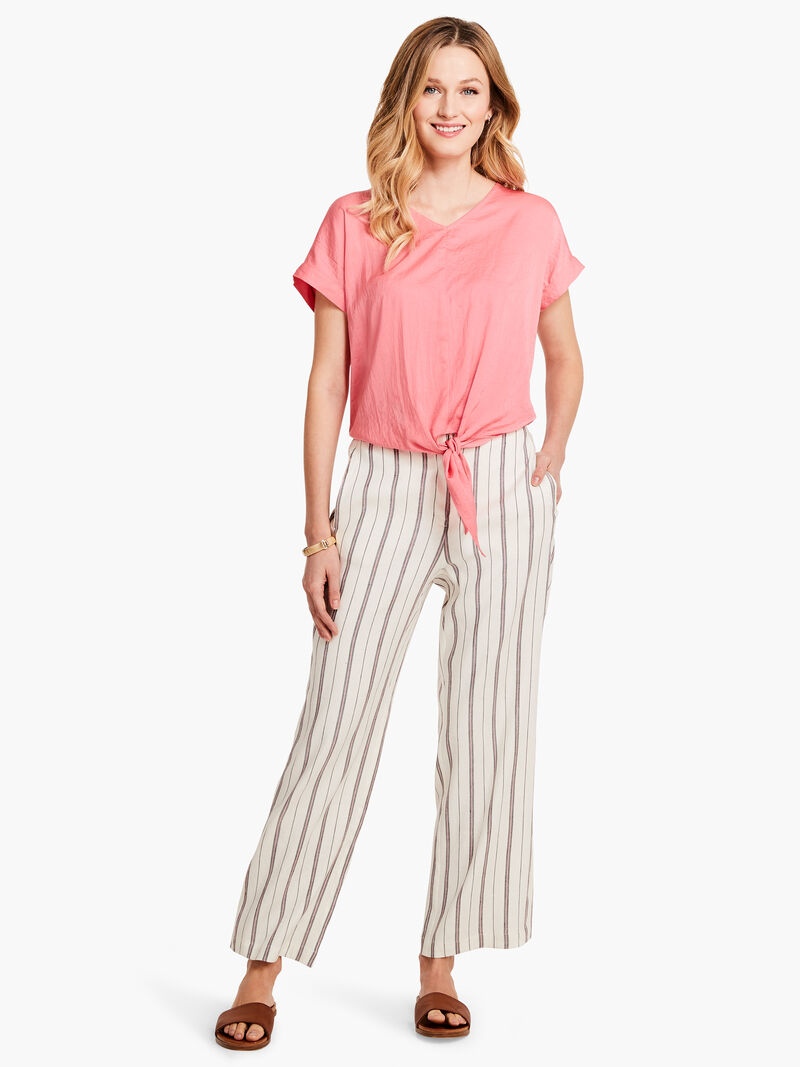 Grapefruit Stripe Pant