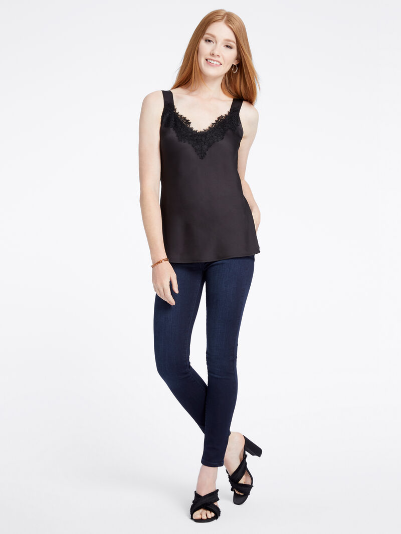 Lace Cami Tank image number 3