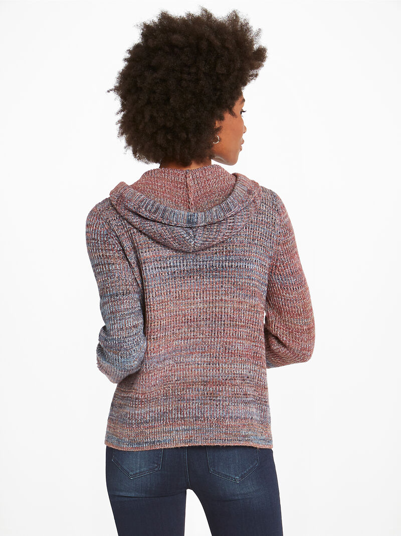 Autumn Sky Hooded Cardigan image number 3