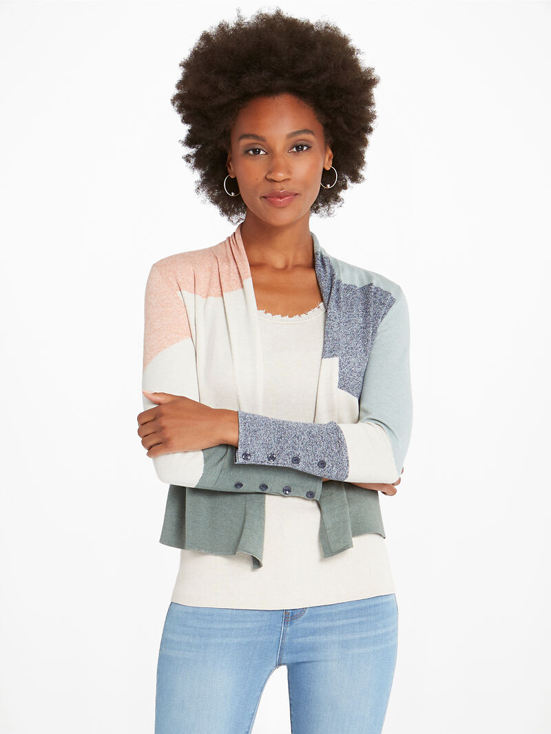 Camo Waves Cardigan