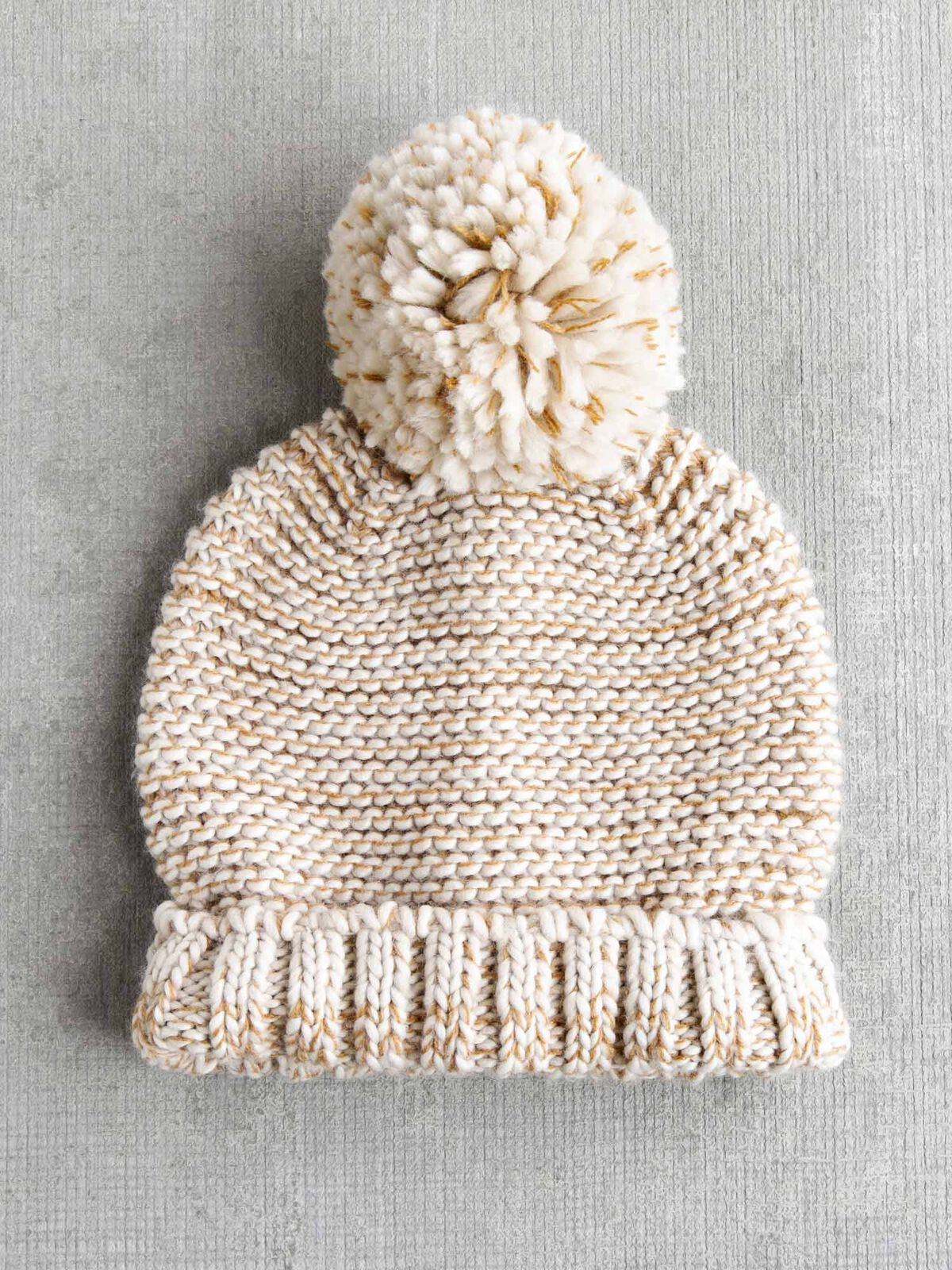 Hat Attack Tweed Slouchy Hat