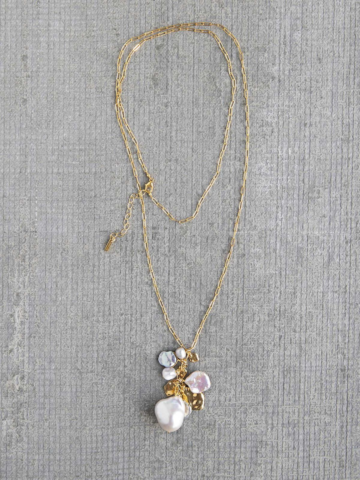 Chan Luu Pearl Mix Necklace