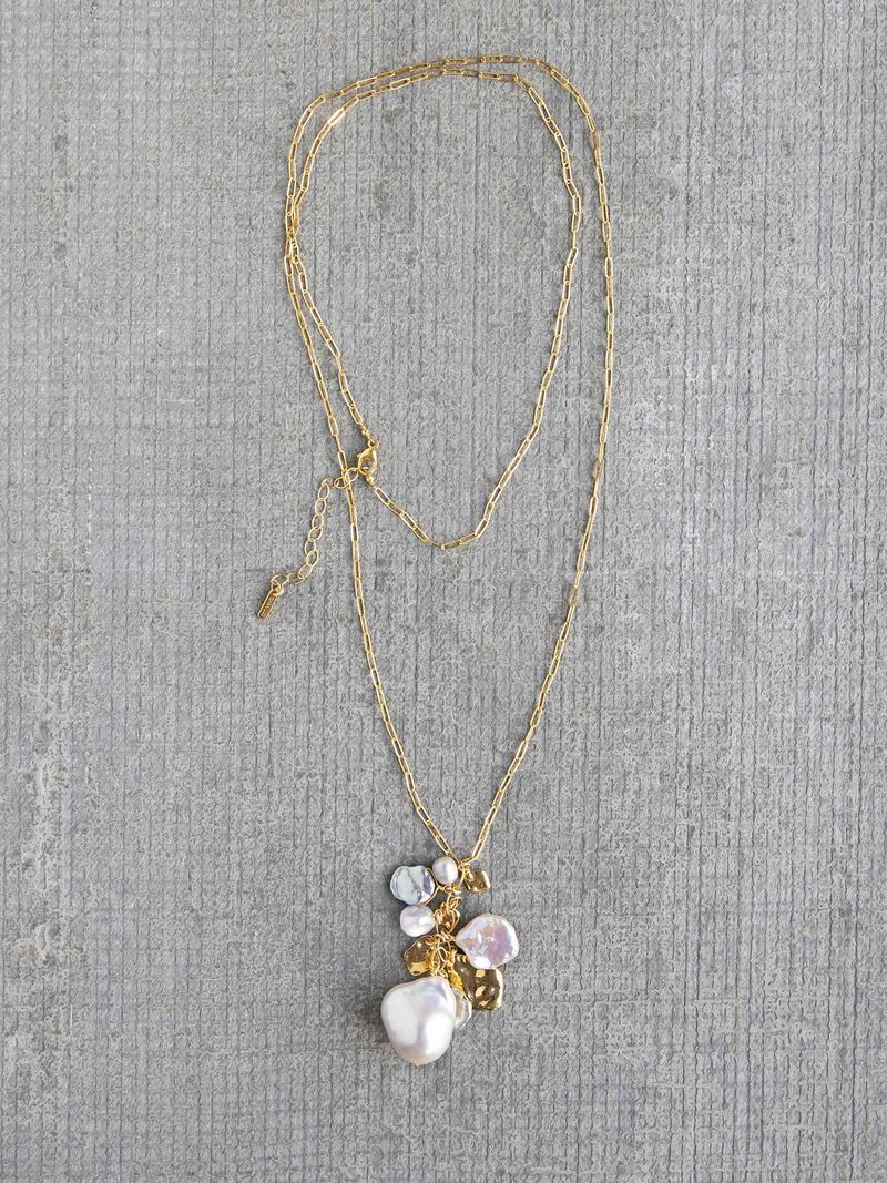 Chan Luu Pearl Mix Necklace image number 0