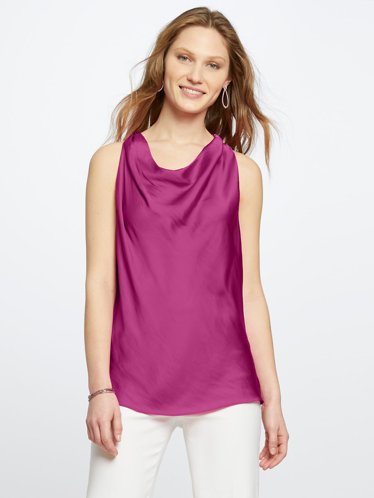 Destination Cowl Neck Tank