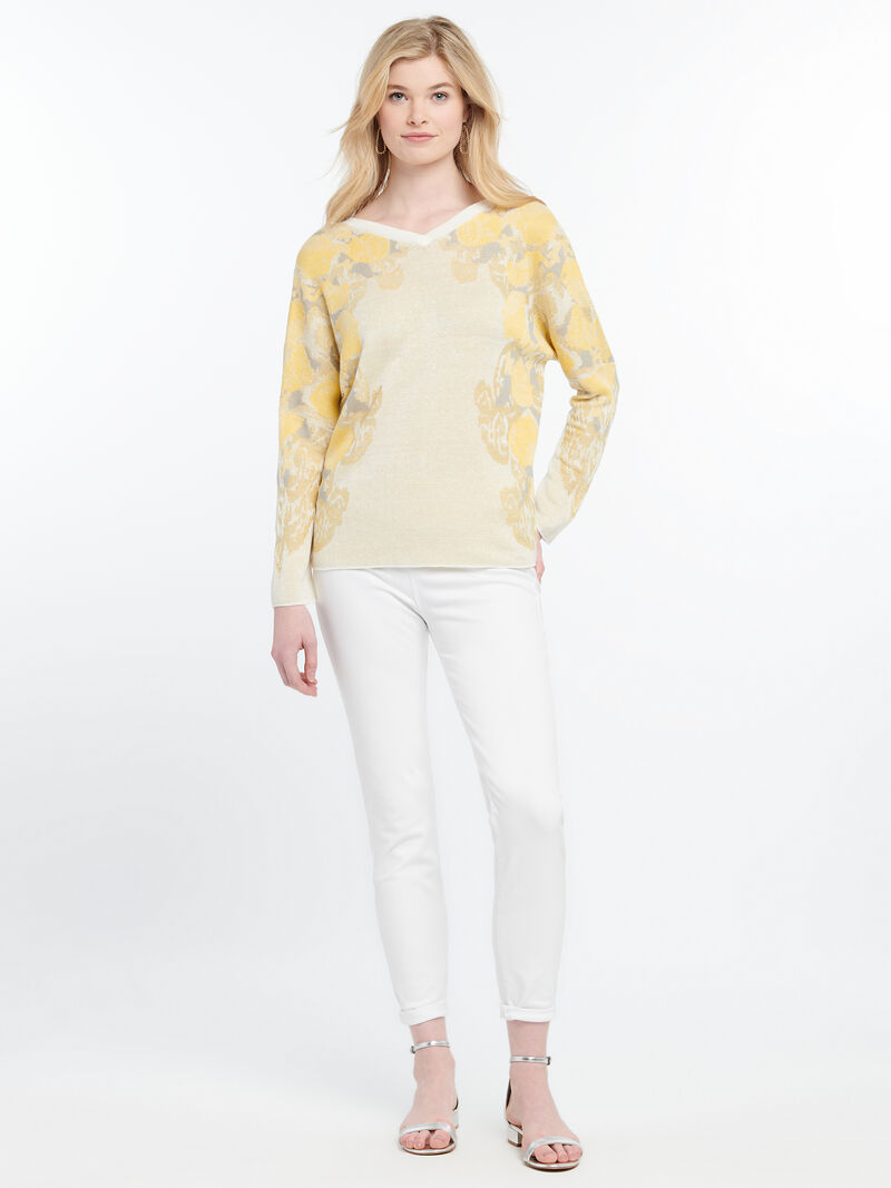 LEMONS SWEATER REVERSIBLE image number 3
