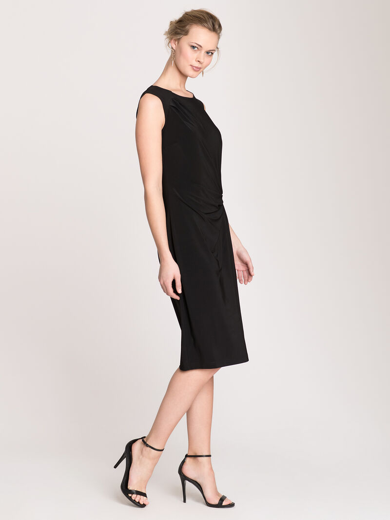 Luxe Jersey Twist Dress image number 3