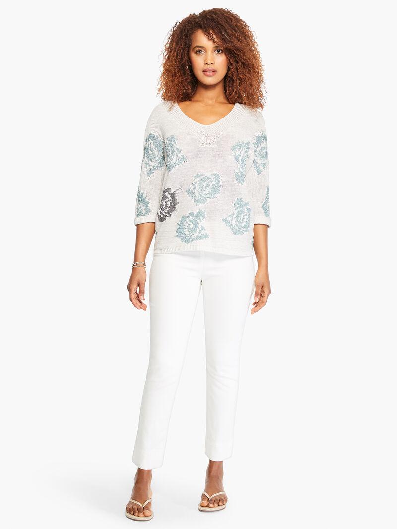 Shimmer Bloom Sweater image number 4