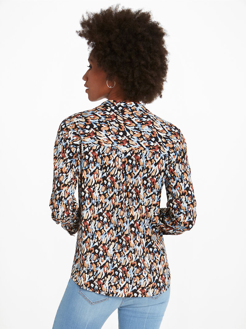 Painted Leopard Shirt image number 3