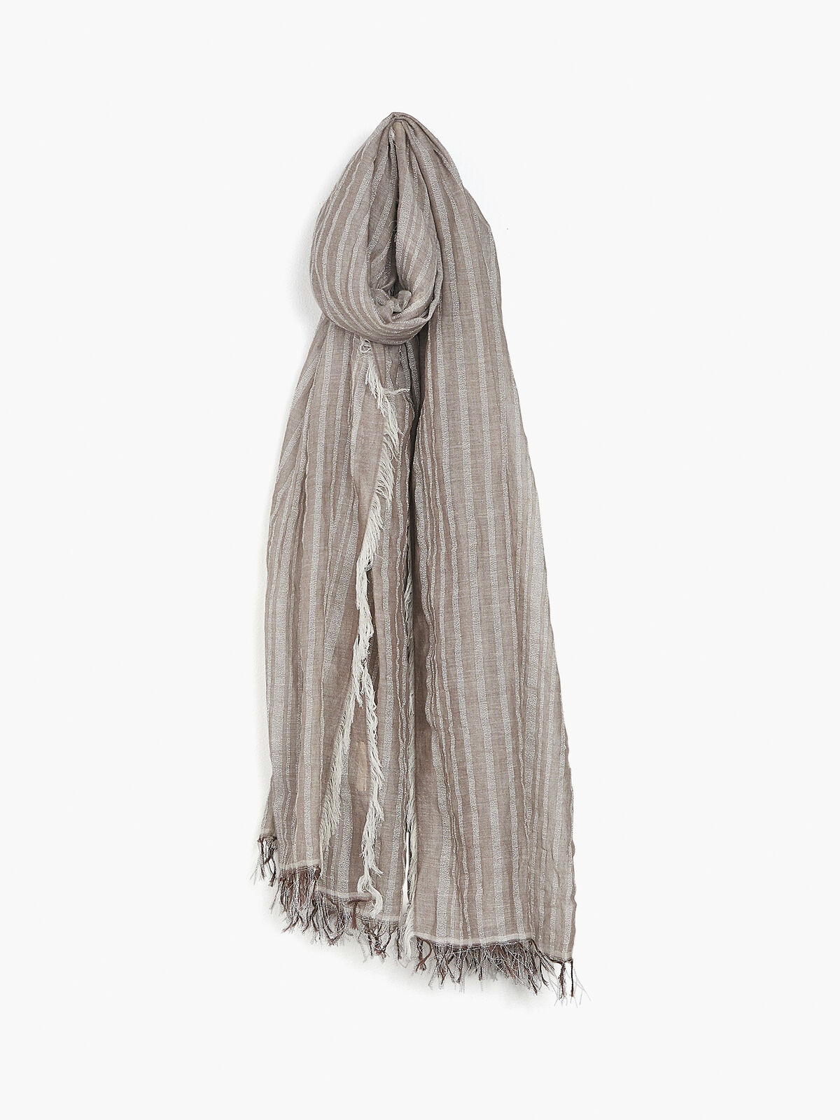 BLOOM AND GIVE - LEHER SCARF