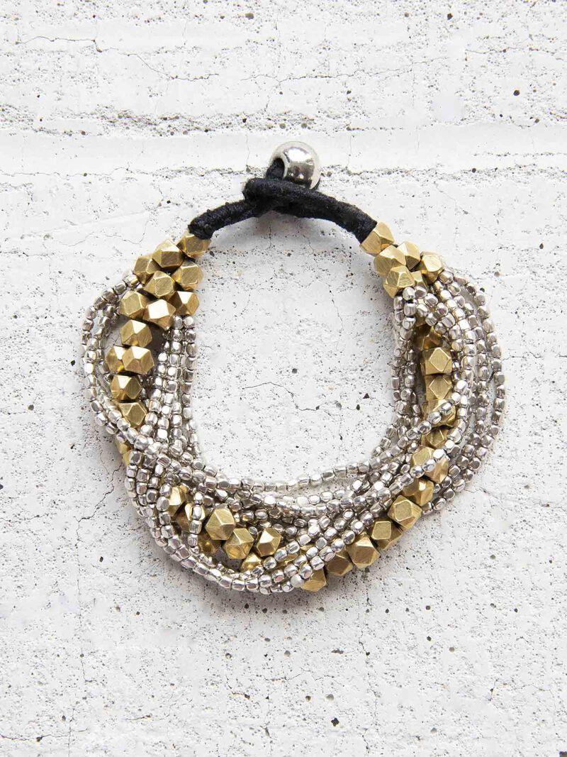 Baizaar Metal Mix Multi Strand Bracelet