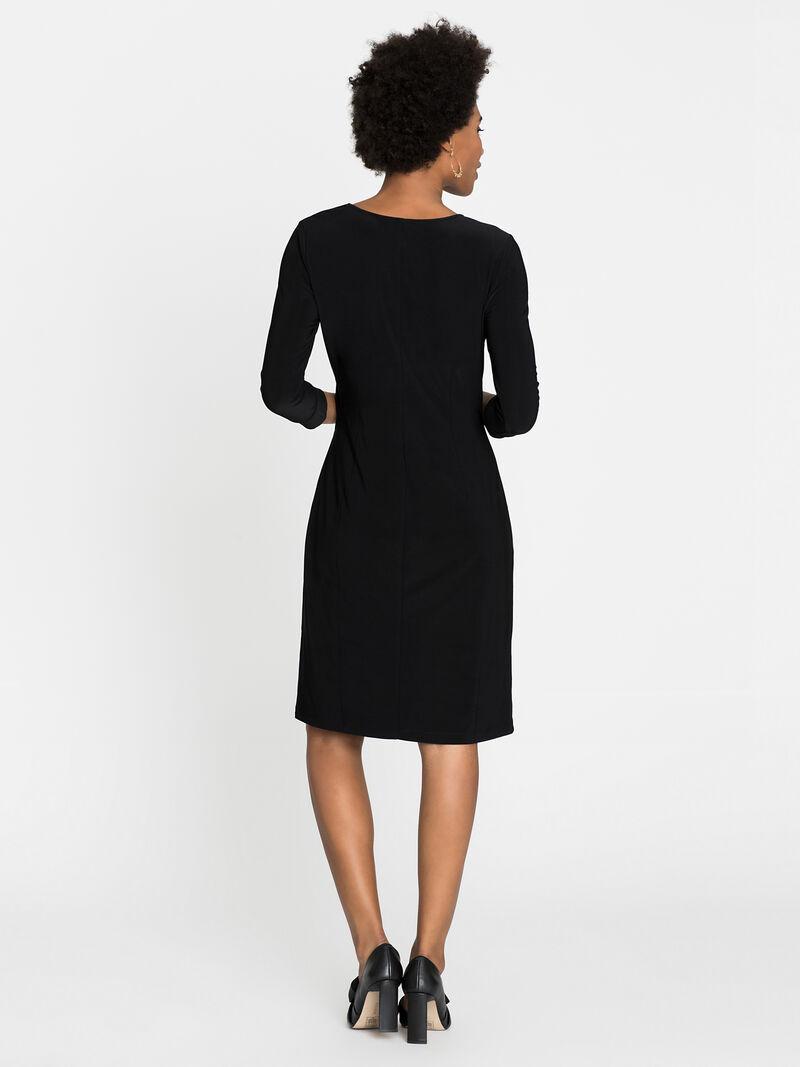 Sleeved Twist Dress image number 1