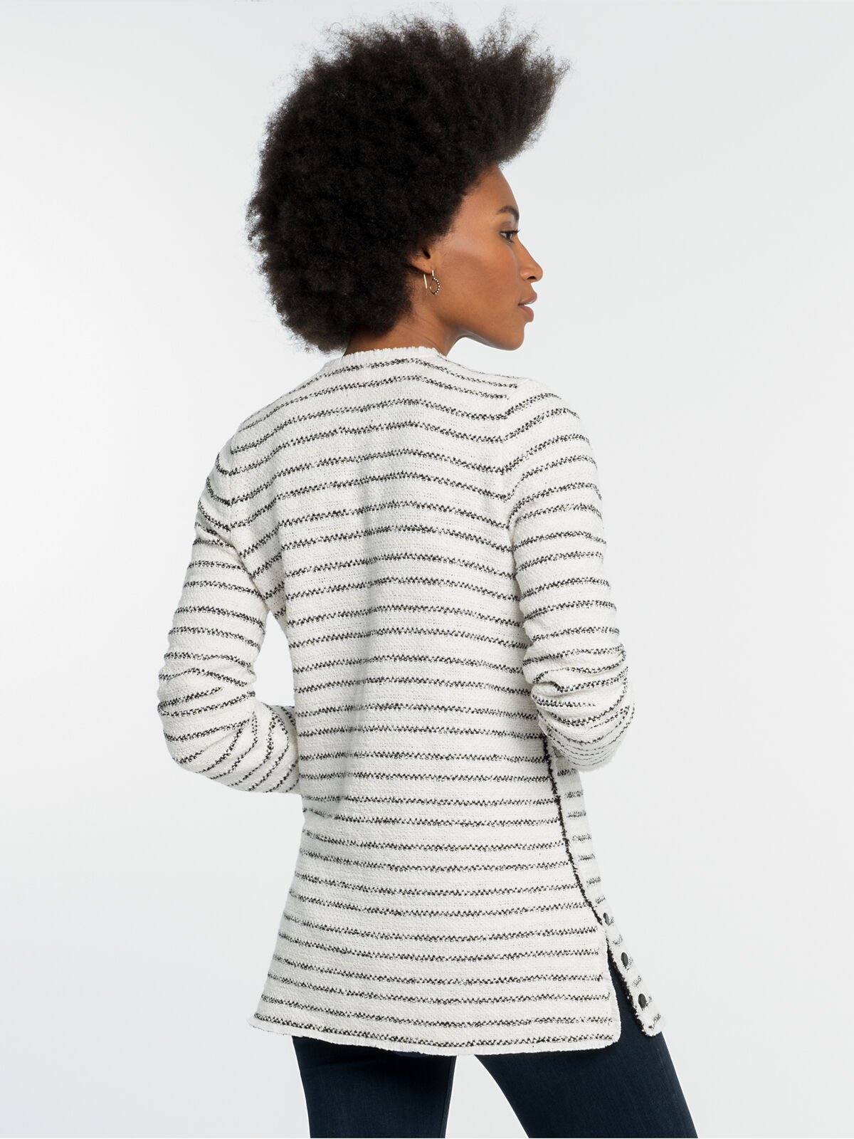 Atlas Stripe Jacket