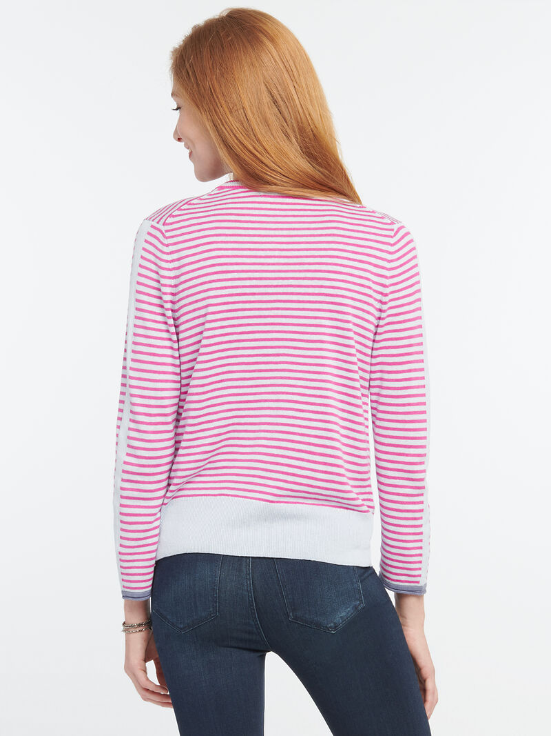 Striped Toggle Cardigan image number 2