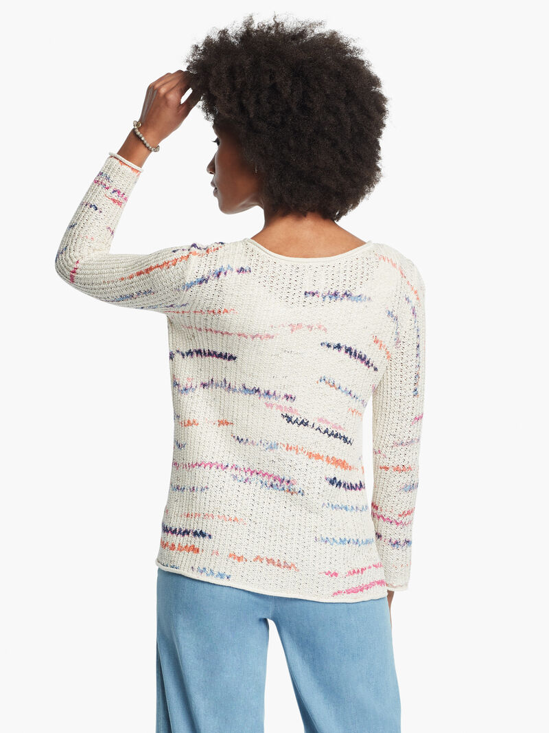 Sunset Stripe Sweater image number 3