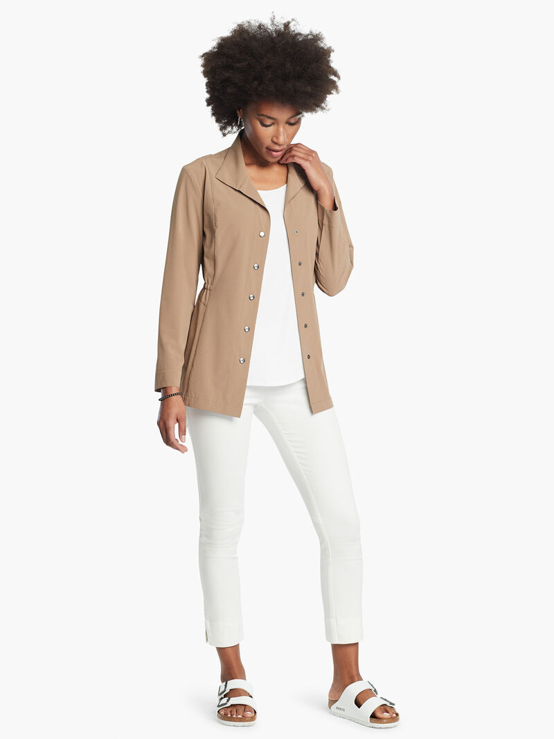 Tech Stretch Snap Front Jacket image number 4