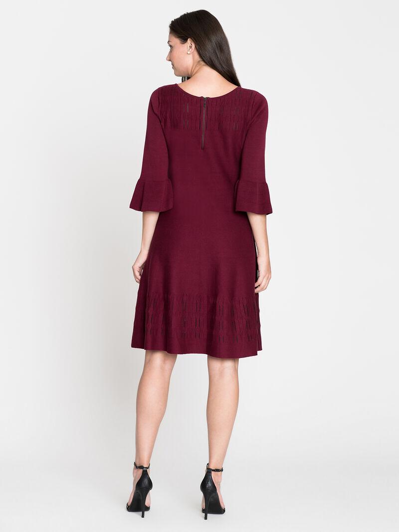Illusion Twirl Dress